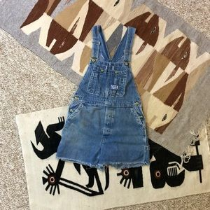 60s Cut Off Overall Shorts Sanforized Big Smith M